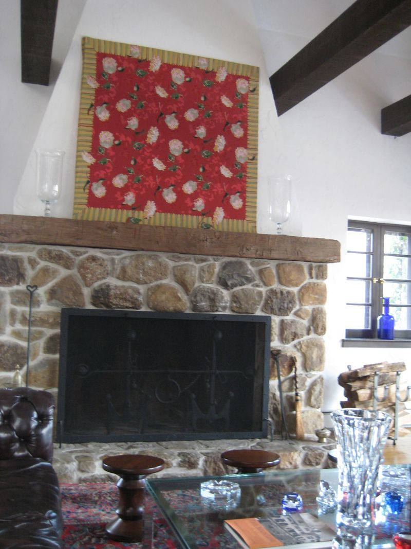Red TC Fireplace