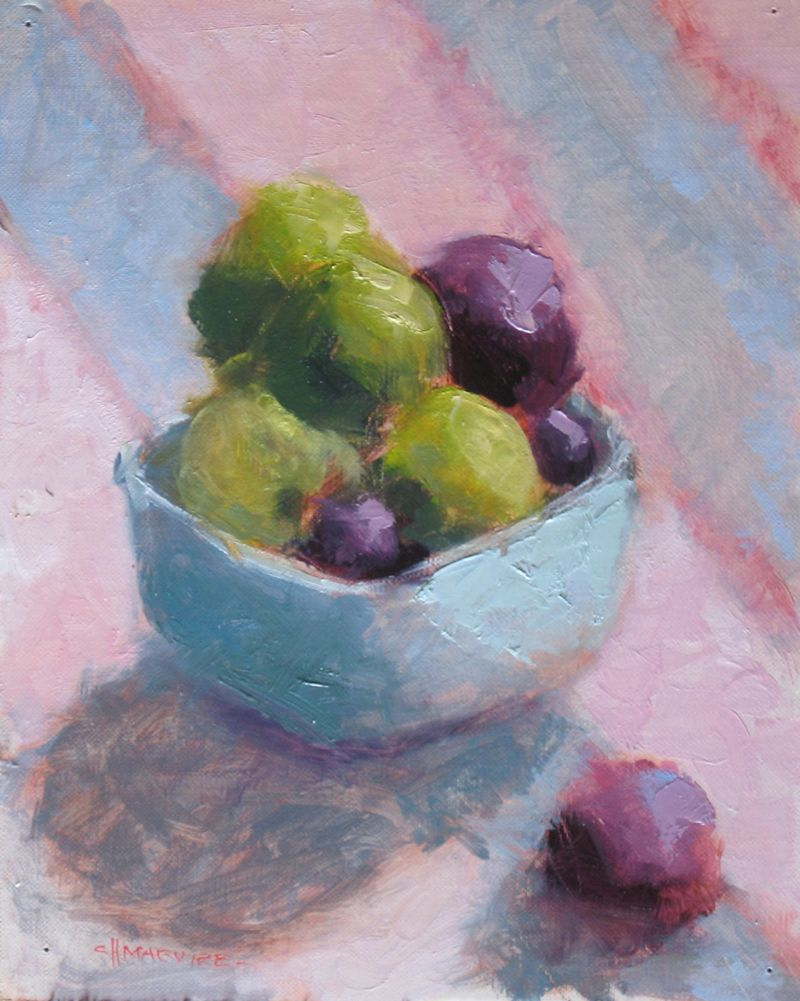 Limes & Plums 10x8